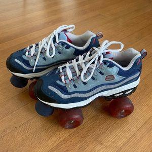 inteligente Duque Alinear  Skechers Shoes | Skechers 4wheelers Rollerskates Skates 9s | Poshmark